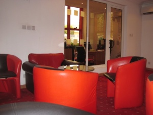 Modern waiting lounge
