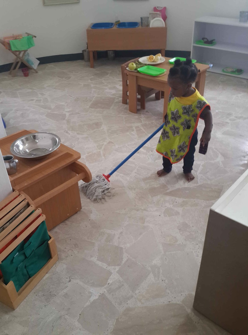 freedom in a montessori environment Freedom, in the montessori environment, is initially a structured freedom, one which entails responsibility there are clear guidelines for acceptable behaviour in the classroom and for the use of the materials.