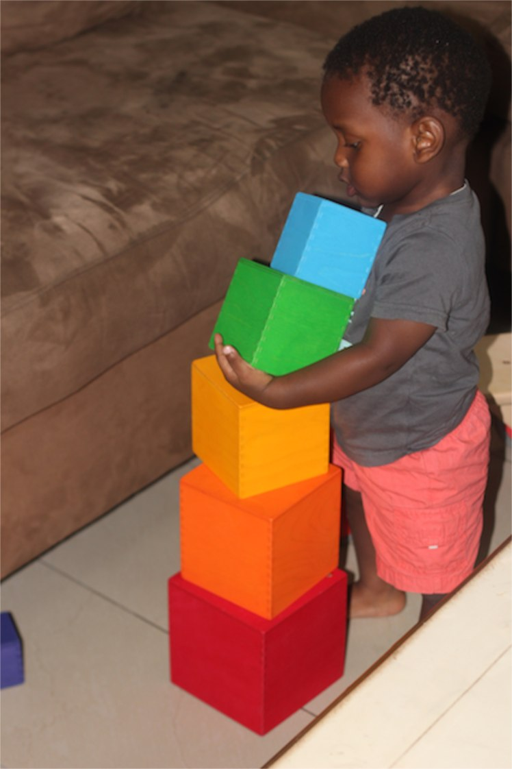 Unstacking after building