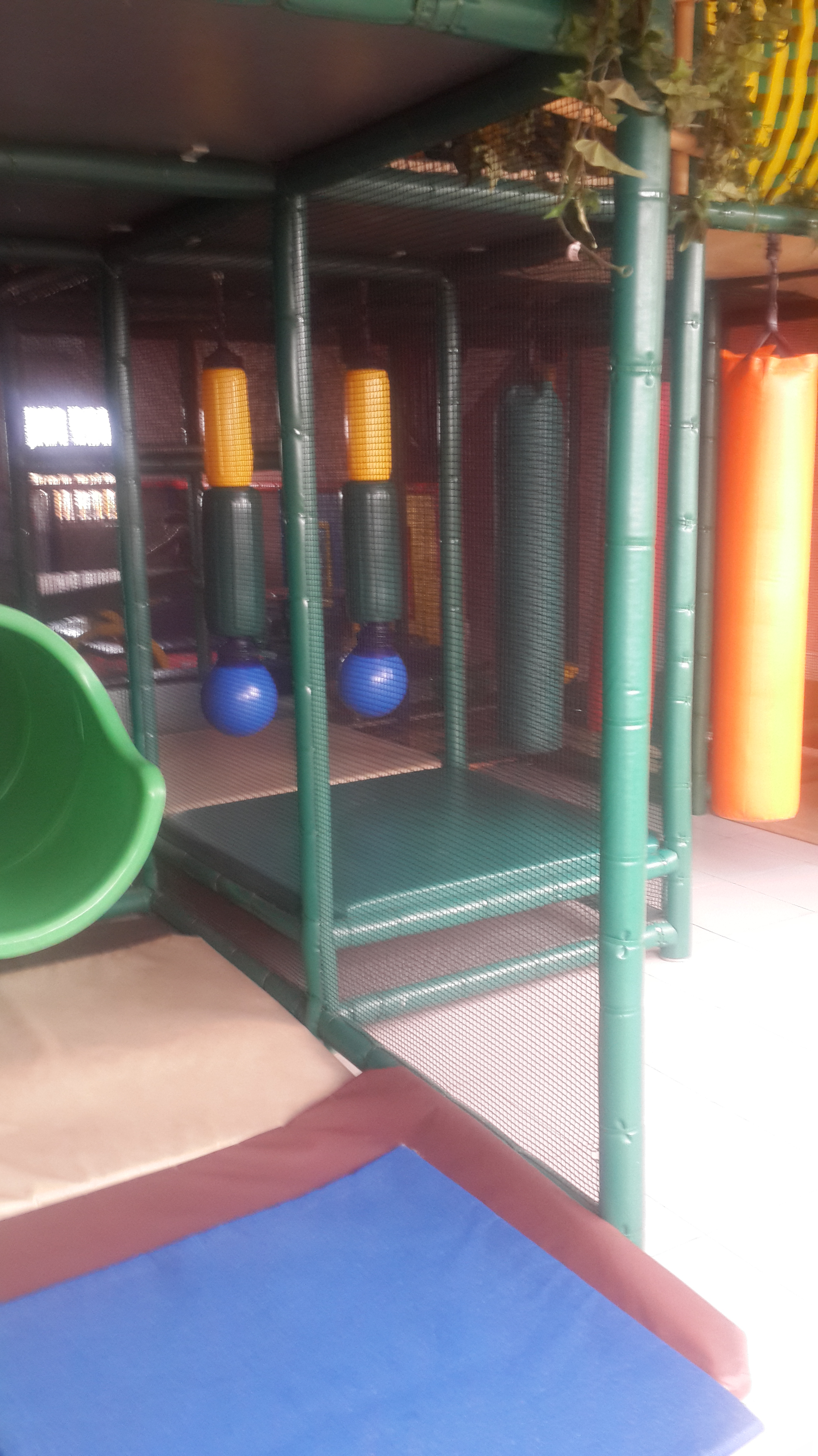 Indoor area for older children