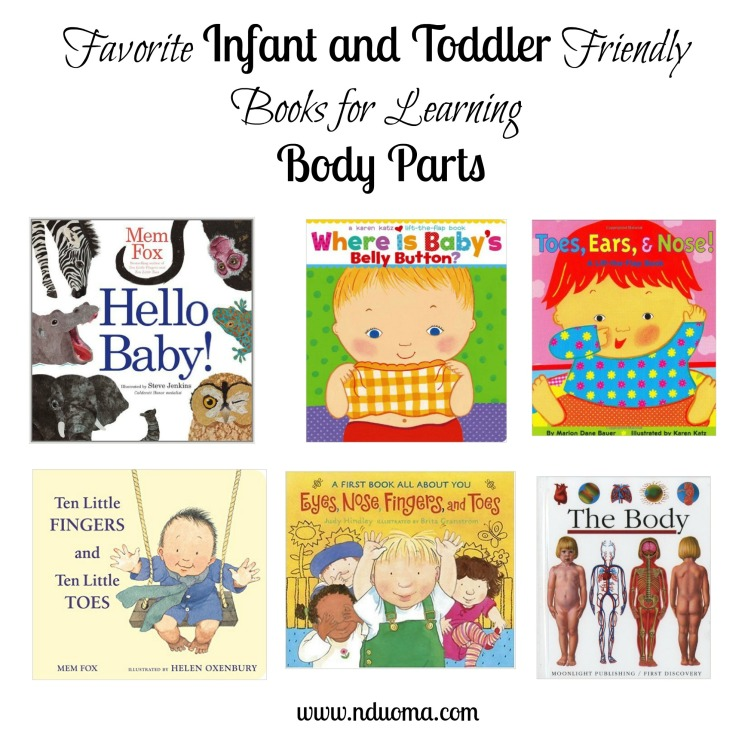 Books for learning body parts