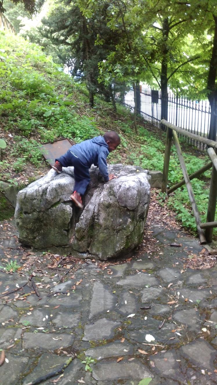 climbing...