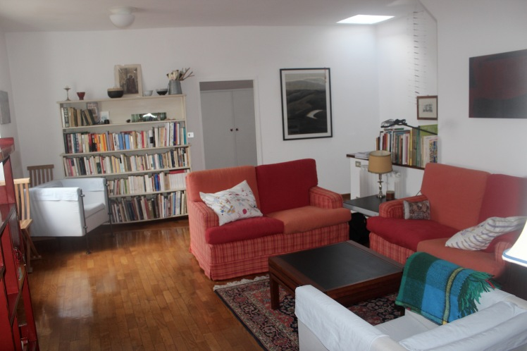 Our beautiful apartment in Perugia. It seems like so long ago now :)